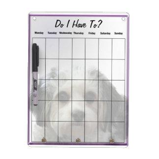 Cavachon Dry Erase Board