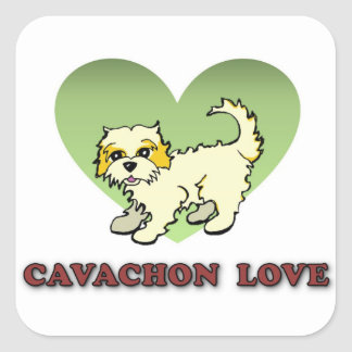 Cavachon Love Sticker