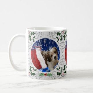 Cavachon Mug, Christmas Coffee Mug