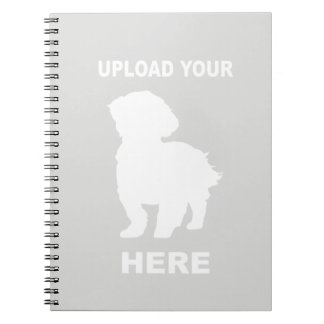 Cavachon Notebook, Upload Your Dog Photo Notebooks