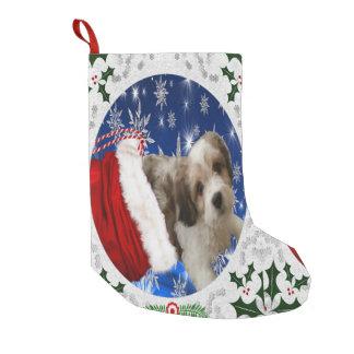 Cavachon Stocking, Christmas Small Christmas Stocking