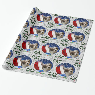Cavachon Wrapping Paper, Christmas Wrapping Paper