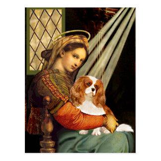 Cavalier 2 (Bl) - Madonna Postcard