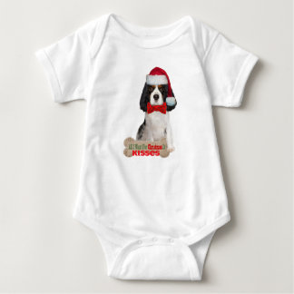 Cavalier All I want For Christmas infant apparel Baby Bodysuit