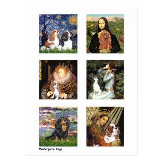 Cavalier Famous Art Composite (clear) Postcard