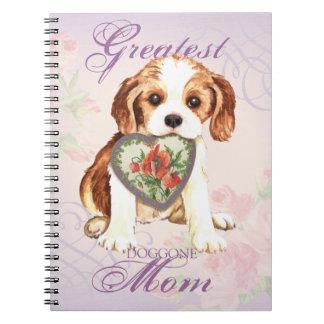 Cavalier Heart Mom Spiral Notebook