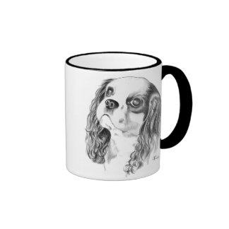 Cavalier King Charles Drawing Coffee Mug