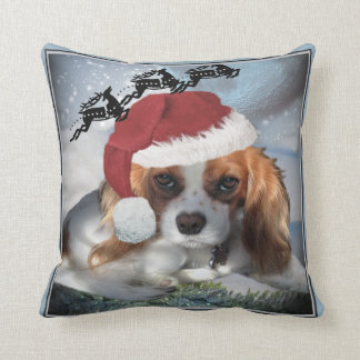 Cavalier King Charles Merry Christmas Pillows Cushion