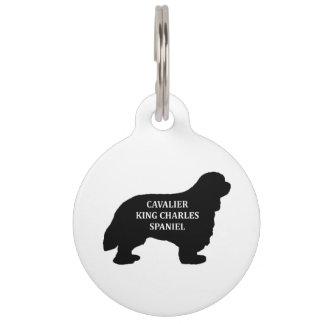 Cavalier King Charles name silo Pet ID Tag