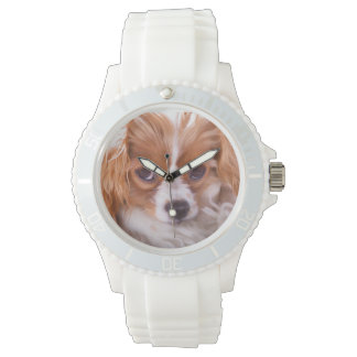 Cavalier King Charles Puppy Wrist Watch