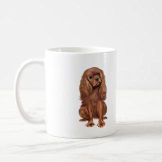 Cavalier King Charles - Ruby Coffee Mug