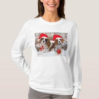Cavalier King Charles Snow Scene T-Shirt