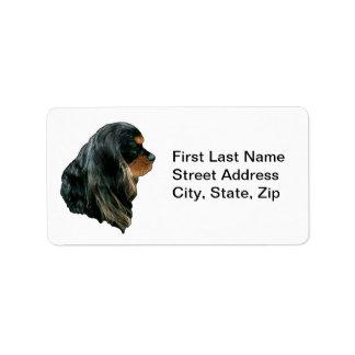 Cavalier King Charles Spaniel Address Label