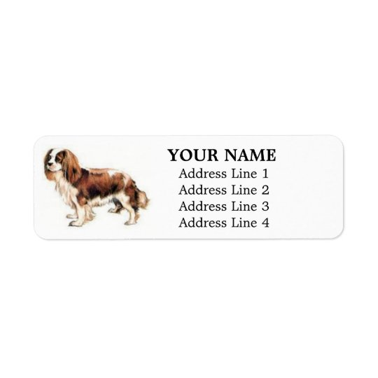 Cavalier King Charles Spaniel Address Labels