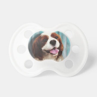 Cavalier King Charles Spaniel - Baxter Baby Pacifier