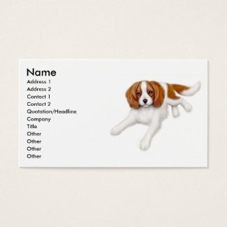 Cavalier King Charles Spaniel Business Card