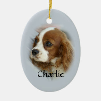 Cavalier King Charles Spaniel Ceramic Ornament