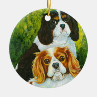 Cavalier King Charles Spaniel Christmas Ornament
