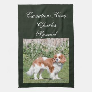 Cavalier King Charles Spaniel dog beautiful photo Tea Towel