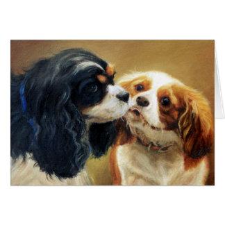 Cavalier King Charles Spaniel Dog Blank Card