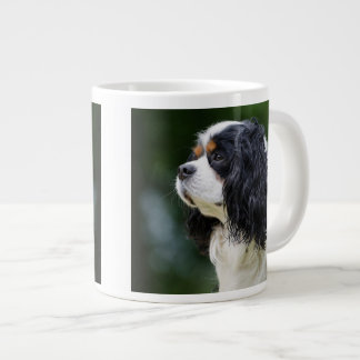 Cavalier King Charles Spaniel Dog Lovers photo Large Coffee Mug