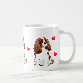 Cavalier King Charles Spaniel Illustrated Mug