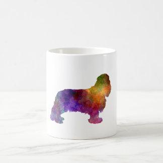 Cavalier King Charles Spaniel in watercolor Coffee Mug