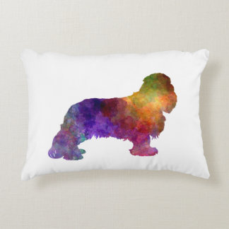 Cavalier King Charles Spaniel in watercolor Decorative Cushion