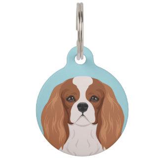 Cavalier King Charles Spaniel Pet Name Tag