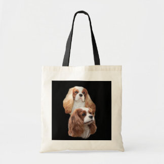 Cavalier King Charles Spaniel Pretty Girls ToteBag Budget Tote Bag