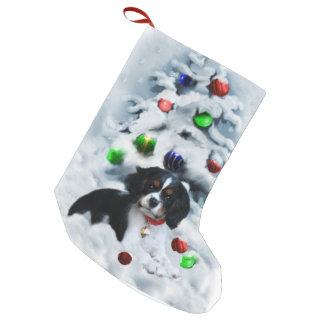 Cavalier King Charles Spaniel Puppy Christmas