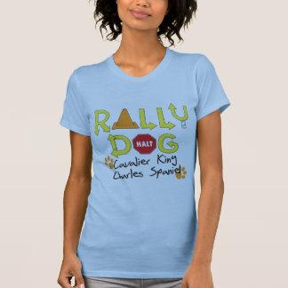 Cavalier King Charles Spaniel Rally Dog T-Shirt
