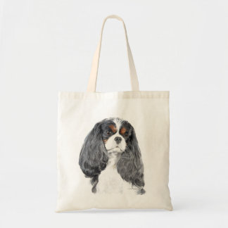 Cavalier King Charles Spaniel Tri Tote Bag
