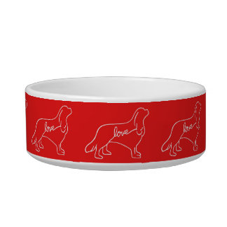Cavalier Love Pet Bowl
