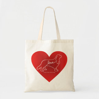 Cavalier Love Tote Bag