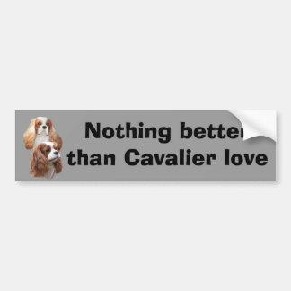 Cavalier Pretty Girls Bumper Sticker