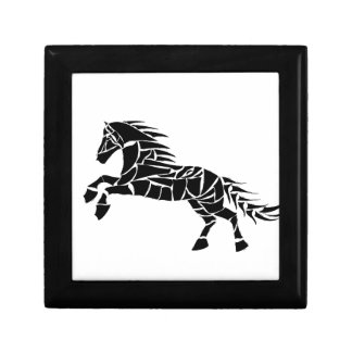 Cavallerone - black horse gift box