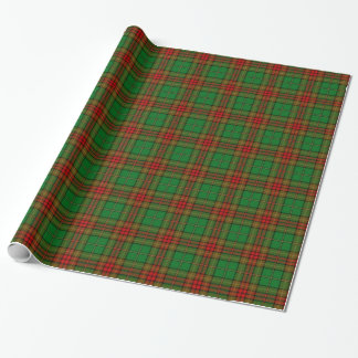 Cavan County Irish Tartan Wrapping Paper