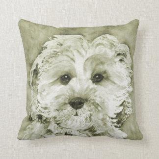 """Cavapoo """"Ollie """" . Cushion"""