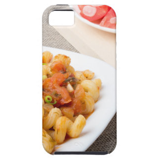 Cavatappi Pasta with sauce of stewed vegetables Tough iPhone 5 Case