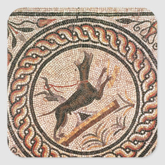 Cave Canem  2nd-3rd century Square Sticker