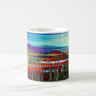 Cave Creek Art Deco Coffee Cup