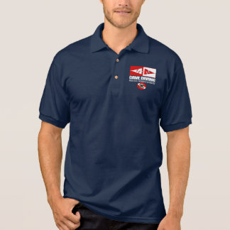Cave Diving (Line Markers) Polo Shirt