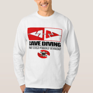 Cave Diving (Line Markers) T-Shirt