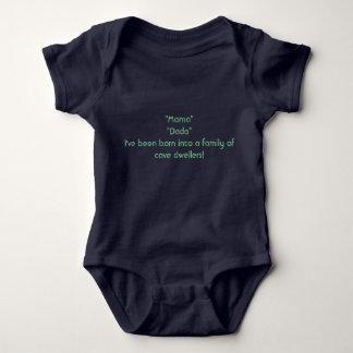 Cave Dwellers Baby Bodysuit