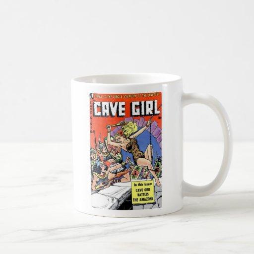 Cave Girl Coffee Mug