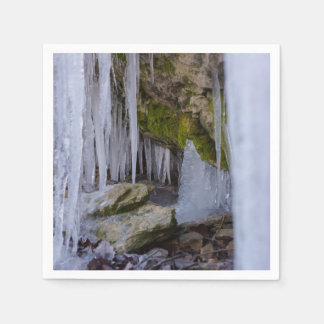 Cave Of Ice Disposable Napkins