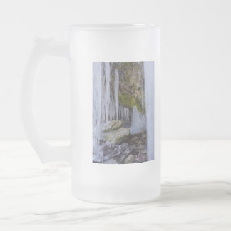 Cave Of Ice Frosted Glass Beer Mug