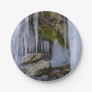 Cave Of Ice Paper Plate