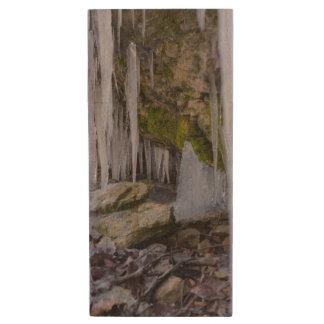 Cave Of Ice Wood USB Flash Drive
